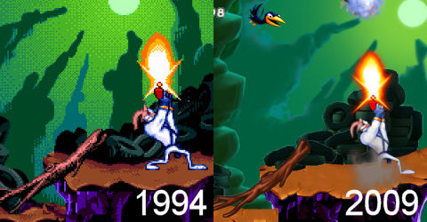 Gameloft's EarthWorm Jim based on Sega Genesis, hits XBLA first