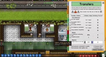 Prison Architect's Free Cleared for Transfer Expansion Releases on PC Next Month