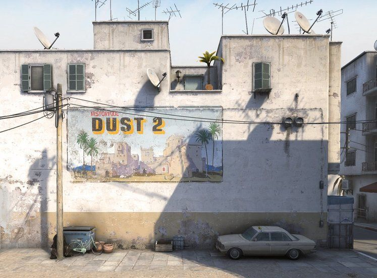 One Of Gaming's Most Iconic Maps - Dust2 - Is Getting A Makeover