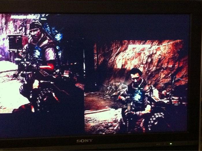 Leak shows Killzone 3 split-screen