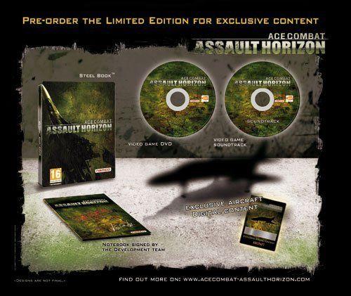 EU preorder bonus for Ace Combat: Assault Horizon Limited Edition announced
