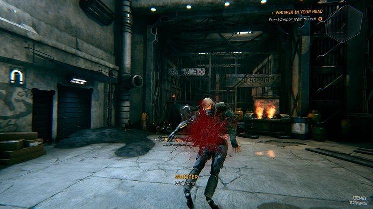 One-Shot Cyberpunk Ninja