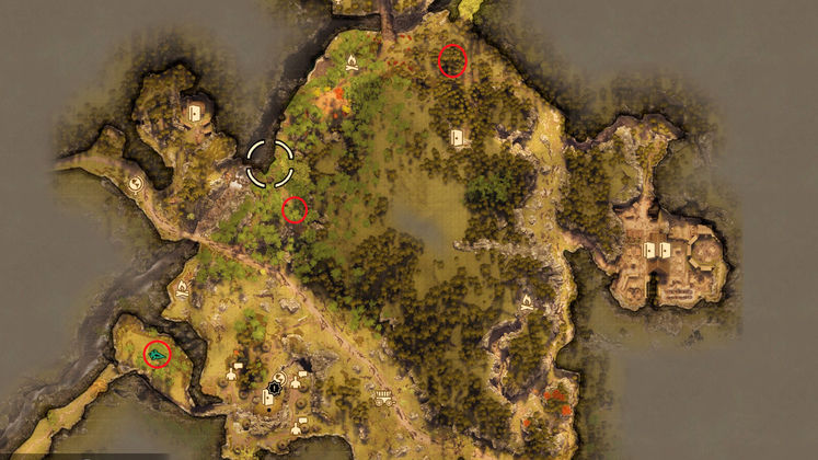 Greedfall The Suffering of Constantin - How to find all Tenlan nests and complete