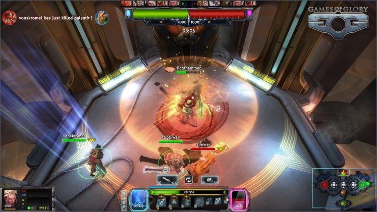 Indie Studio LightBulb Crew announce sci-fi MOBA Games of Glory