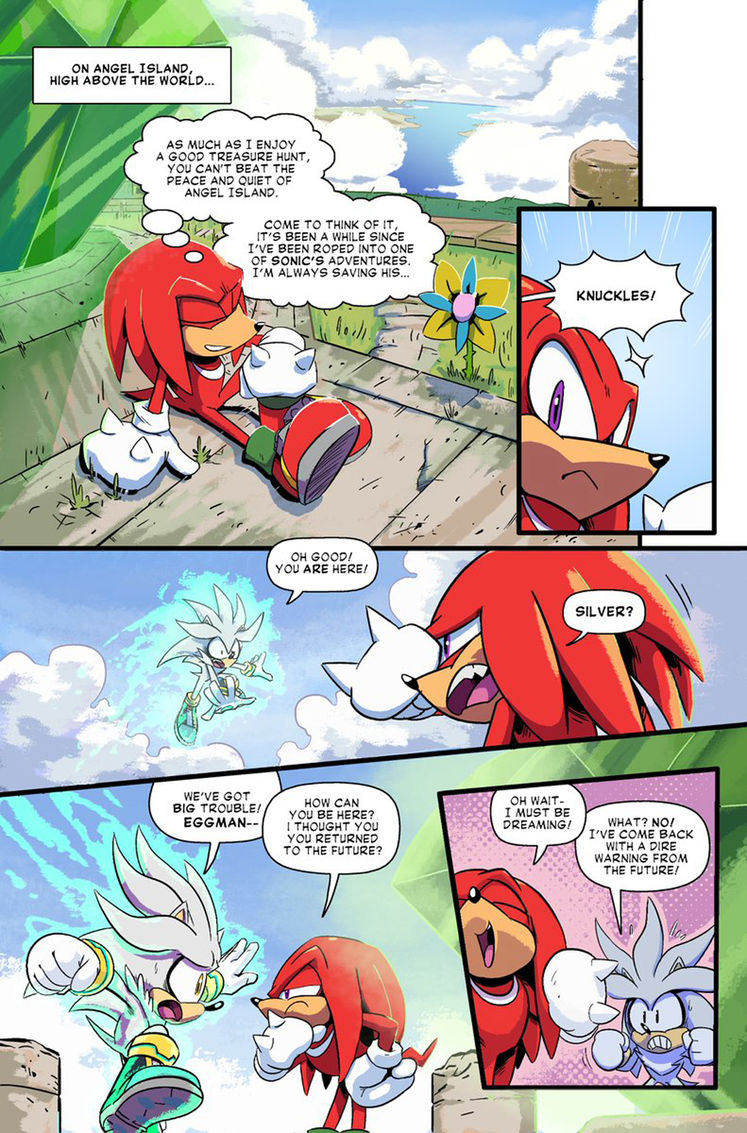 Read Part 2 of the Sonic Forces Prequel Comic For Free Here! Confirms Forces is a sequel to Mania!