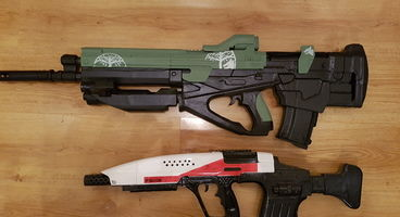 Reddit User 3D Prints A Selection Of Destiny 2's Greatest Weapons - Sunshot Included