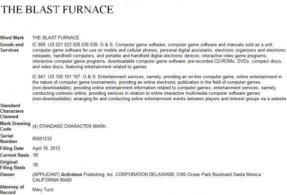 Activision trademarks