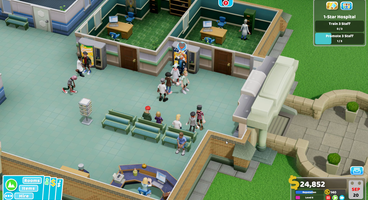There's a Theme Park in Two Point Hospital, but don't expect it to be their next game