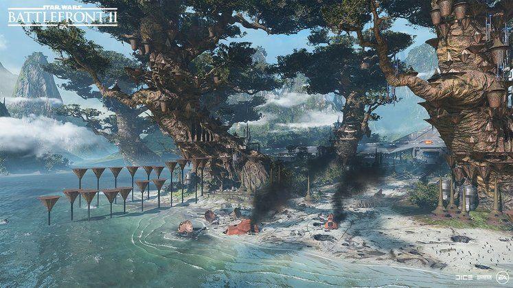 Star Wars Battlefront 2 Giants Above Kachirho Update Details