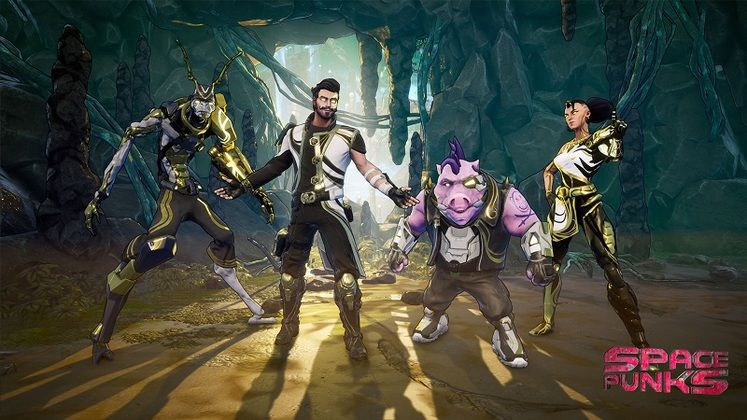 Space Punks Hands-Off Preview - Free-to-Play Looting and Shooting Across the Stars