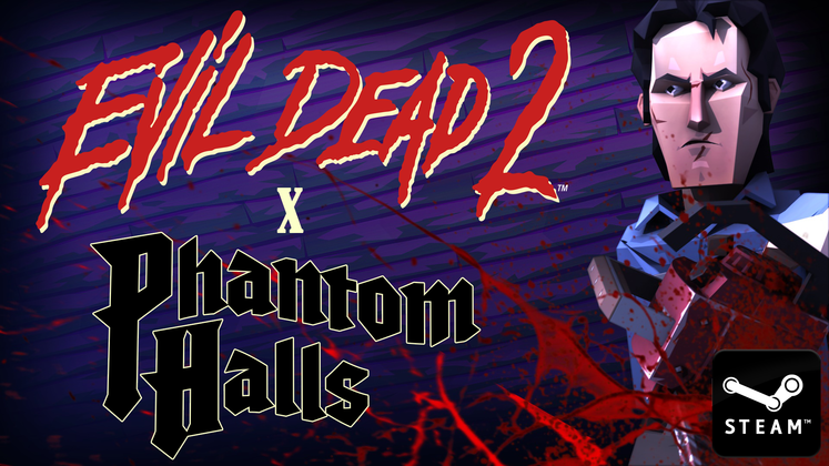 The first Evil Dead game in 12 years is a free expansion for roguelike Phantom Halls <UPDATE: Now available with new trailer!>