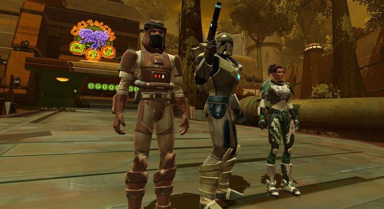 The Old Republic 1.1 patch on test server
