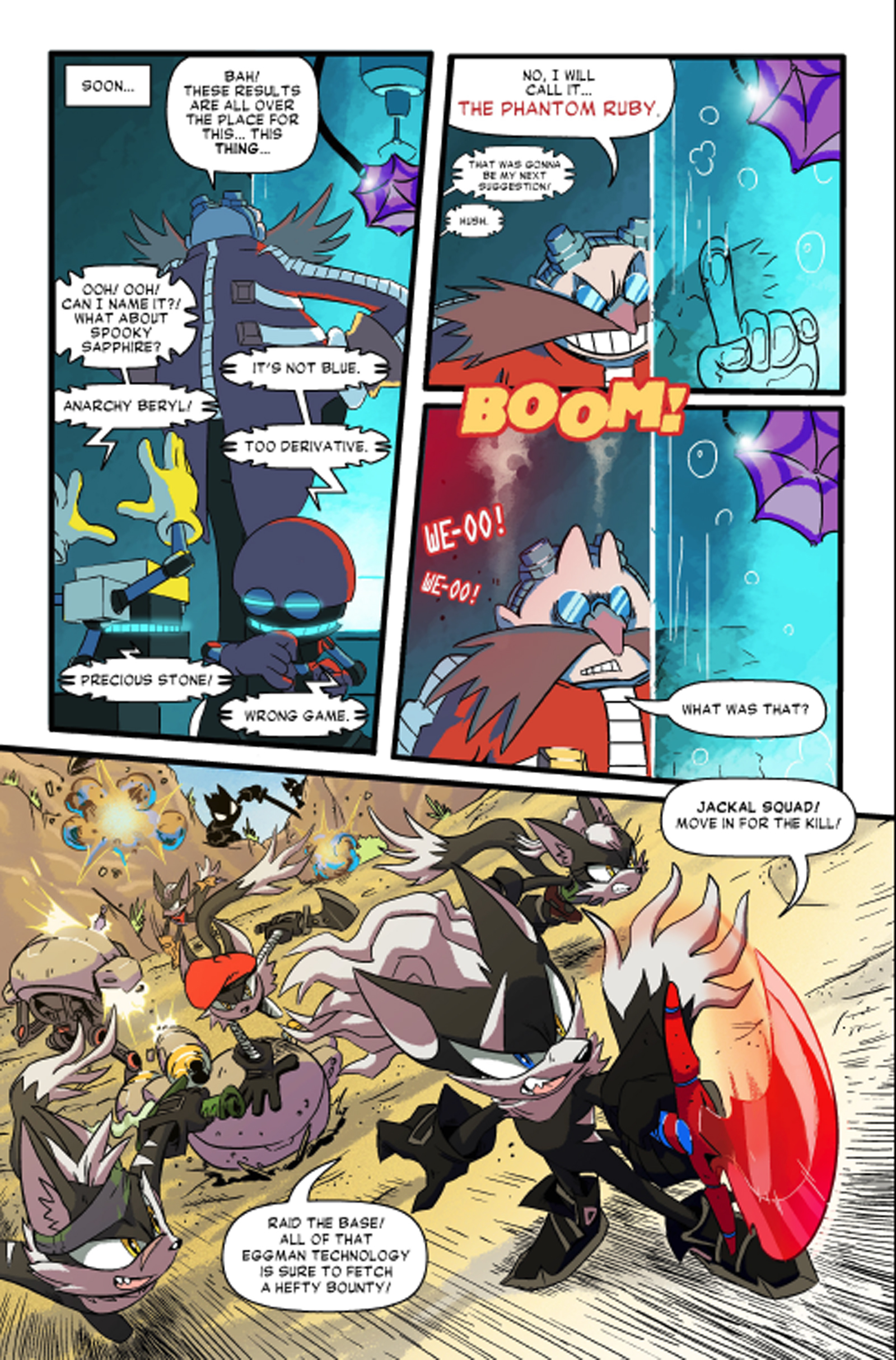 read download the final sonic forces comic issue 4 rise of inf