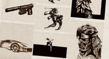 Konami launches Yoji Shinkawa's 'Digital Drawing Board' for Metal Gear Solid