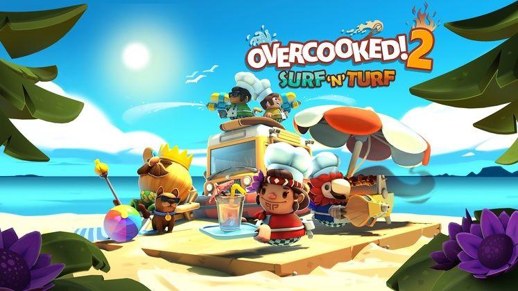 Overcooked 2 Surf 'n' Turf DLC Released
