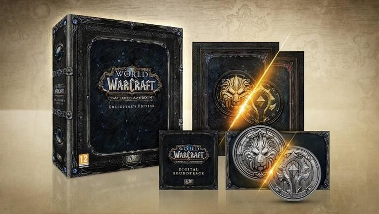 World of Warcraft: Battle For Azeroth Coming In August, Collector's Edition Revealed