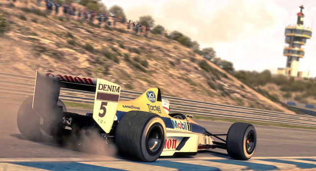New F1 2013 DLC features 1990's and classic tracks packs