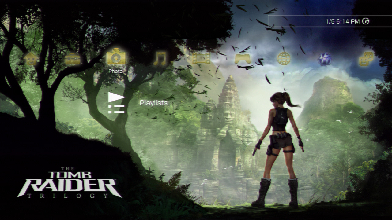 Tomb Raider Trilogy remastered in HD exclusively for PS3 | GameWatcher