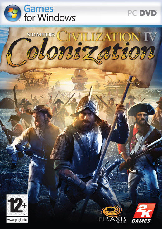 Civilization IV: Colonization Packshot