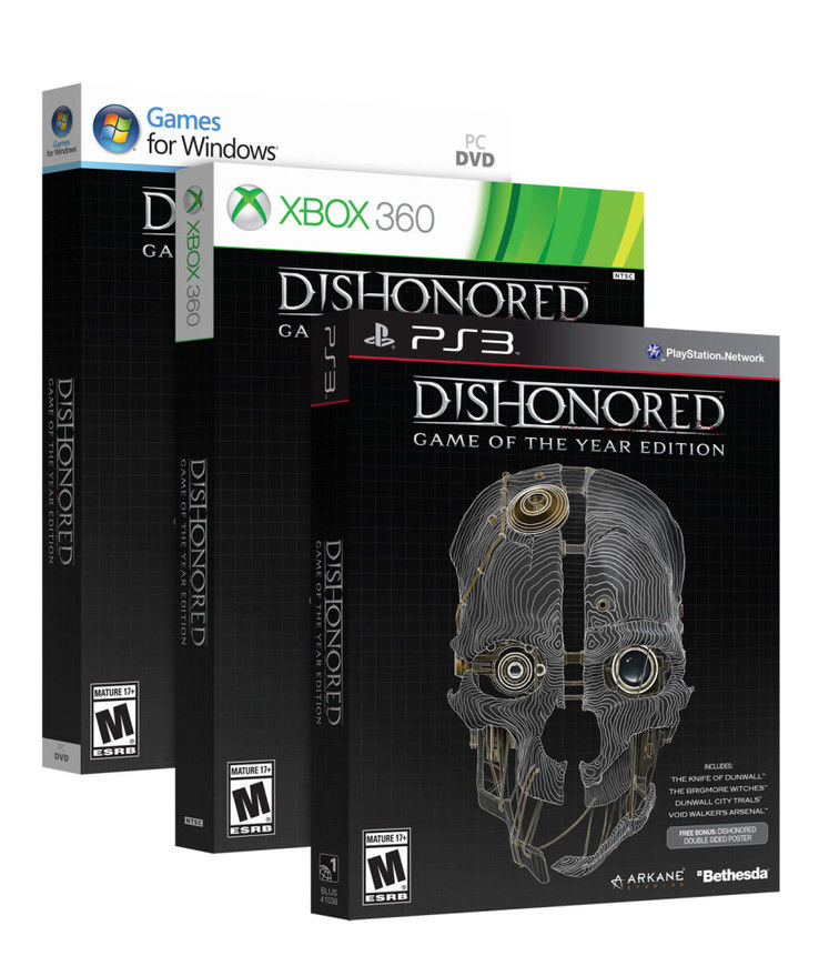 Bethesda officially announces Game of the Year Edition of Dishonored