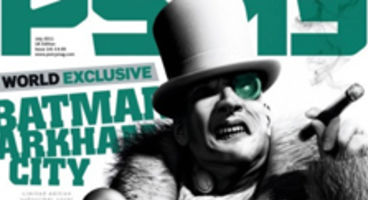 PSM3 cover piece confirms Penguin for Batman: Arkham City