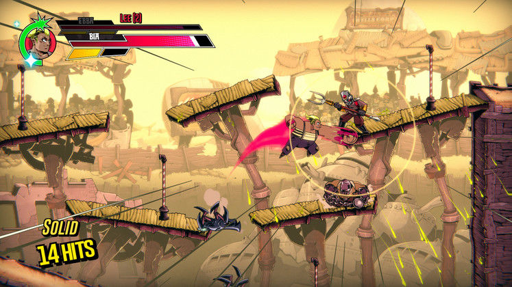 Speed Brawl Is An Anime-inspired 2D Combat-racer That's Coming To Multiple Platforms This Summer