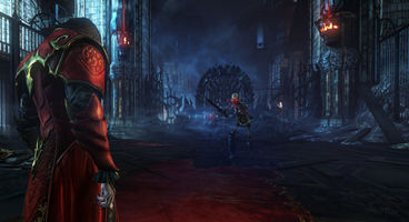Castlevania: Lords of Shadow 2 in 60/40 split between modern city and castle