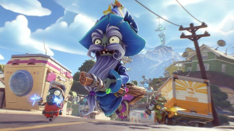 Plants vs Zombies: Battle for Neighborville Gets New Wizard Zombie in Its Luck o' the Zombie Festival Event