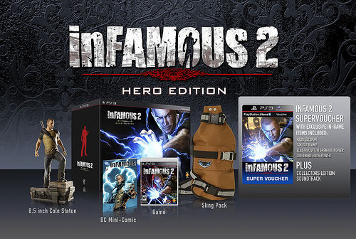 inFamous 2 dated, Hero Edition revealed
