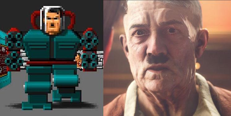 Wolfenstein 2's Hitler