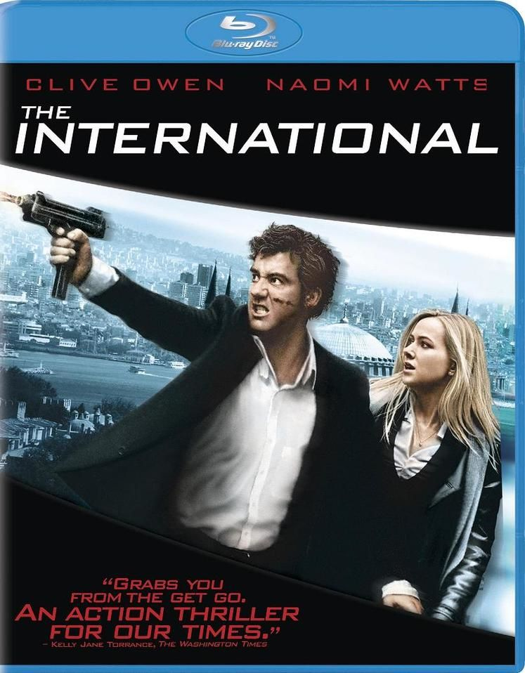 The International Blu-ray review
