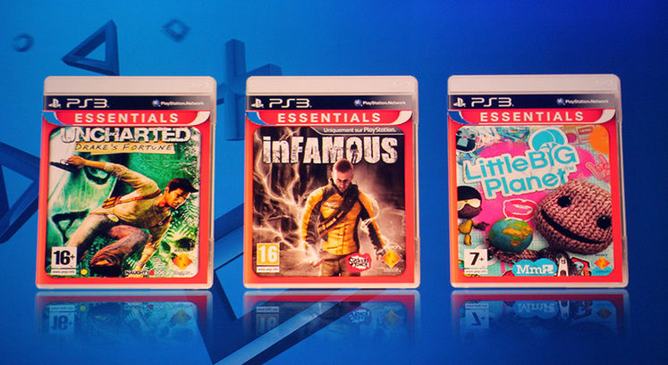 PS3 Essentials released on PSN