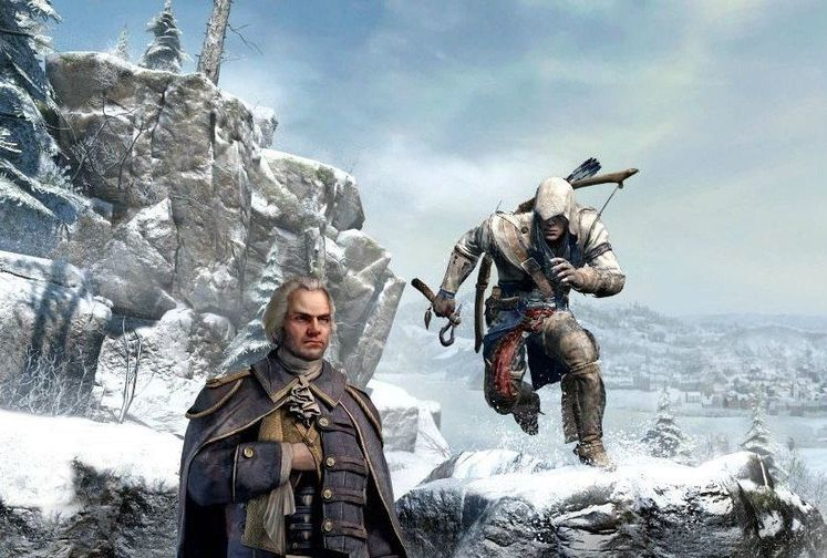 Assassin's Creed 3 features online co-operative modes