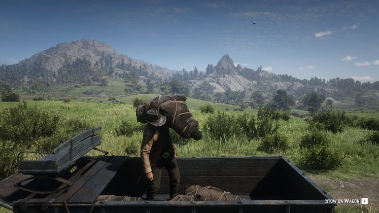 Red Dead Redemption 2's Hunting Wagon Mod Lets You Carry More Game