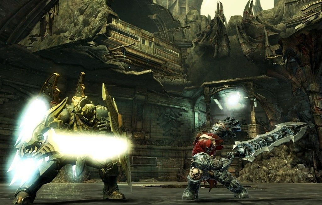 THQ fixes 360 screen tearing issues for Darksiders | GameWatcher