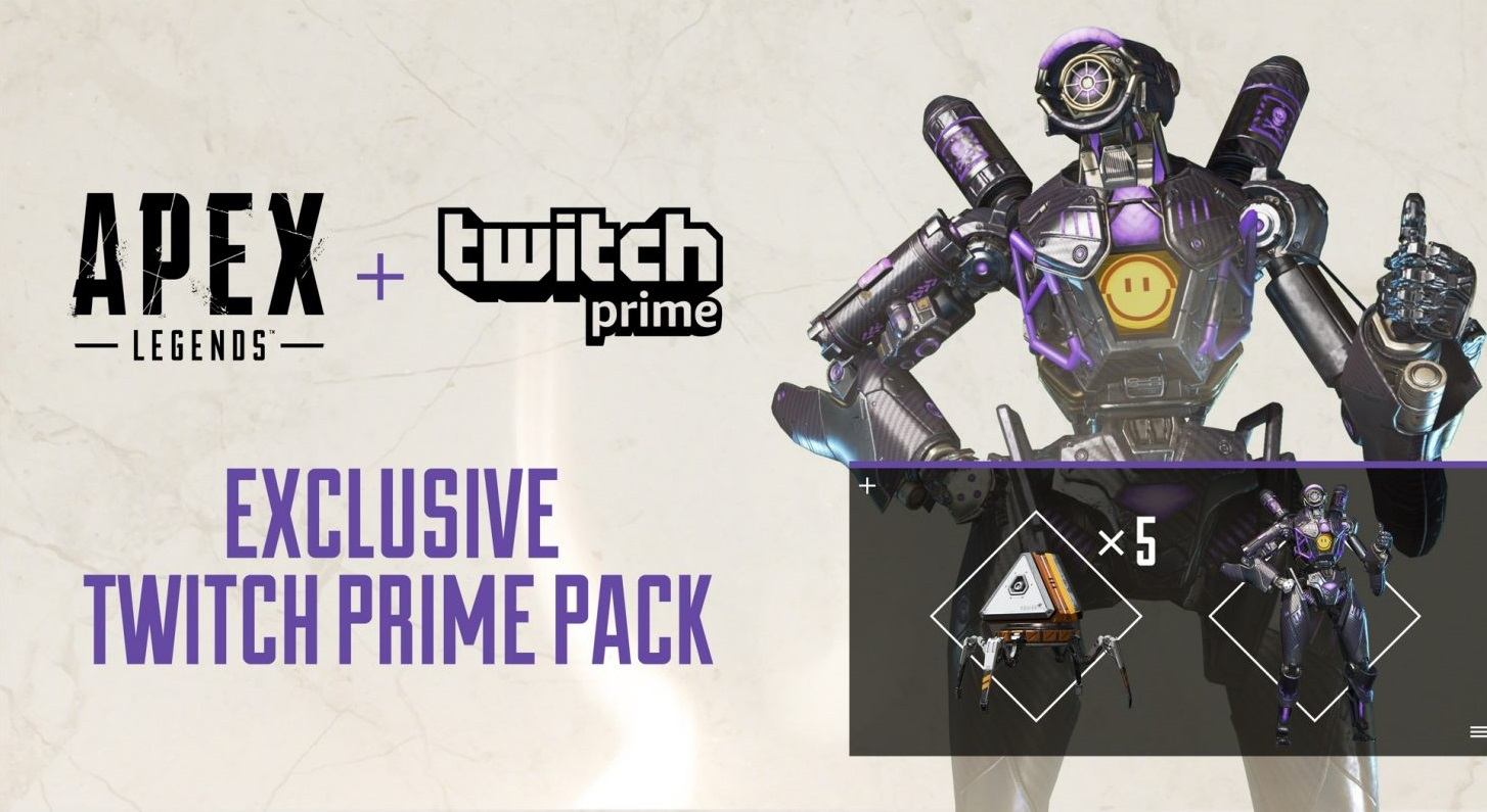 Get an Exclusive Apex Legends Skin and Five Apex Packs for