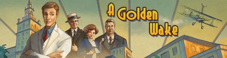 Roaring twenties adventure game A Golden Wake available to-pre-order