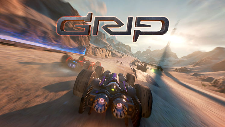 Wired Productions announces all formats release of high speed combat racer GRIP