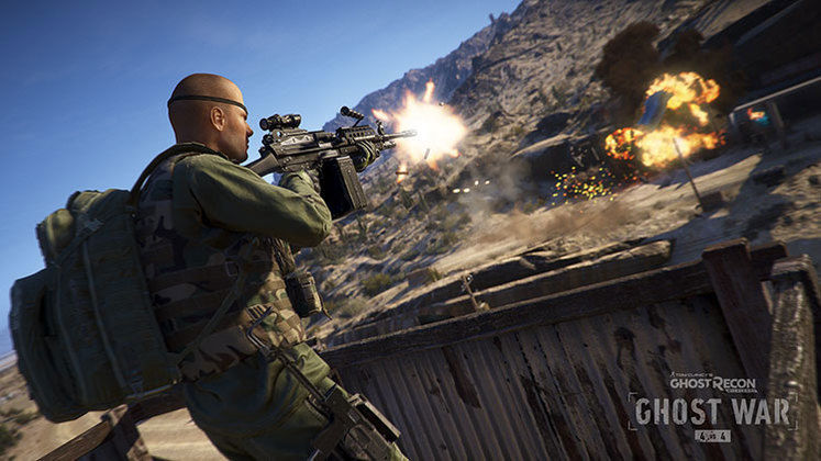Whether You Own Ghost Recon: Wildlands Or Not, You Can Try The New 4v4 'Ghost War' PvP Mode Right Now