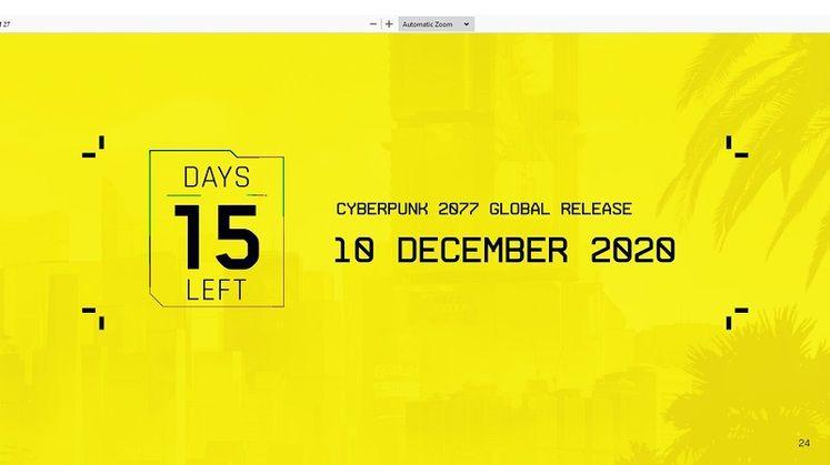 The Witcher 3 Still Making CD Projekt Loads of Money, Cyberpunk 2077 December Release Certain