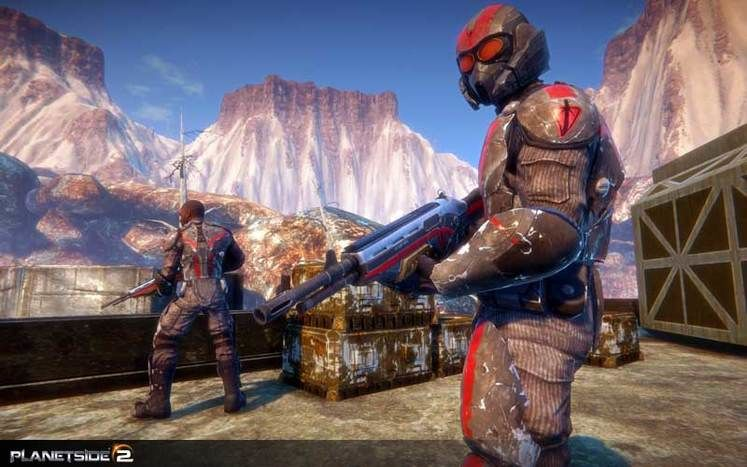 Signups for PlanetSide 2 closed beta are now active
