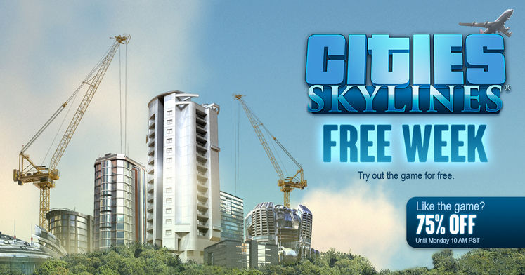 Cities Skylines Free To Play Until Sunday