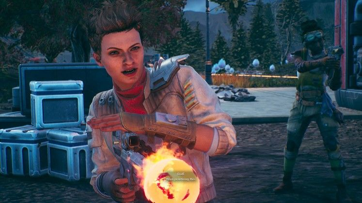 The Outer Worlds Holster - how to put weapons away