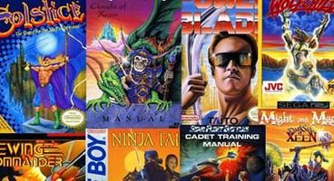 Find out how classic video game box art was created