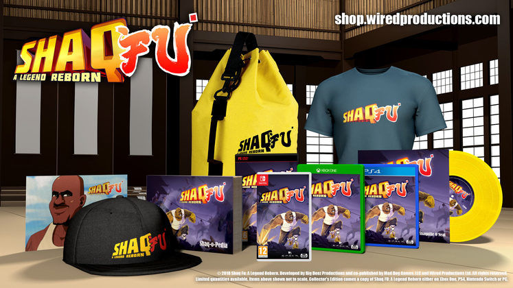 Shaq Fu: A Legend Reborn Limited Collector's Edition Revealed