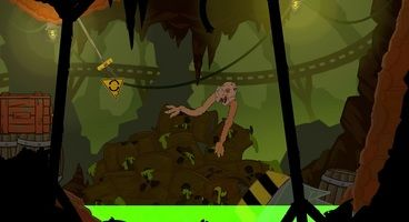 Struggling Is A Co-op Platformer In Which You Control The Limbs of a Misshapen Creature