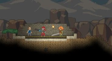 Starbound beta divided into three parts