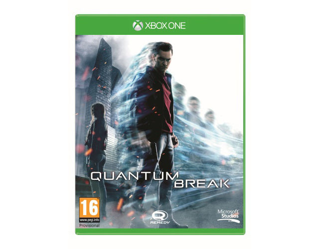 Remedy's Quantum Break for Xbox One gets official box art
