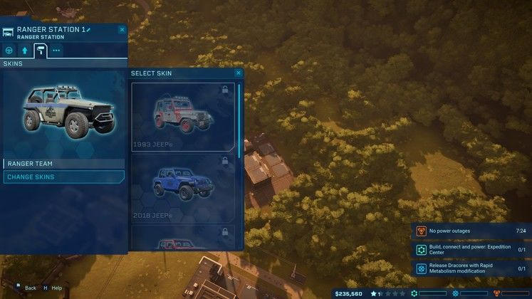 Jurassic World Evolution - How To Unlock The 1993 Jurassic Park Jeep Skin