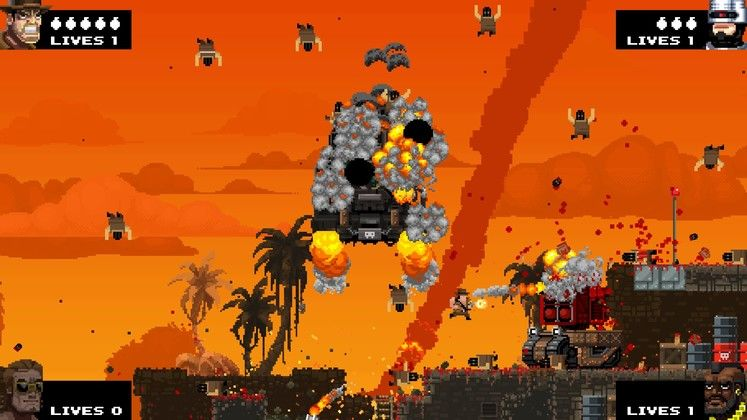 Broforce out now on Steam Early Access, adds first female Bro